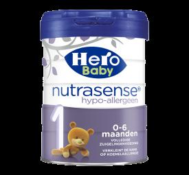 Hero Baby Nutrasense hypoallergeen 1 zuigelingenmelk (0-6mnd)